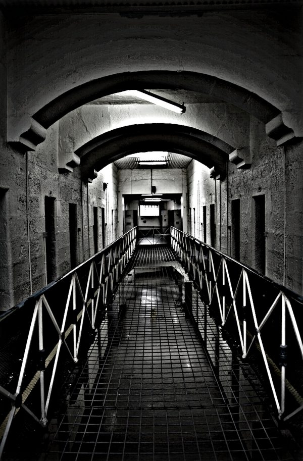 View of Cell Block Old Beechworth Gaol